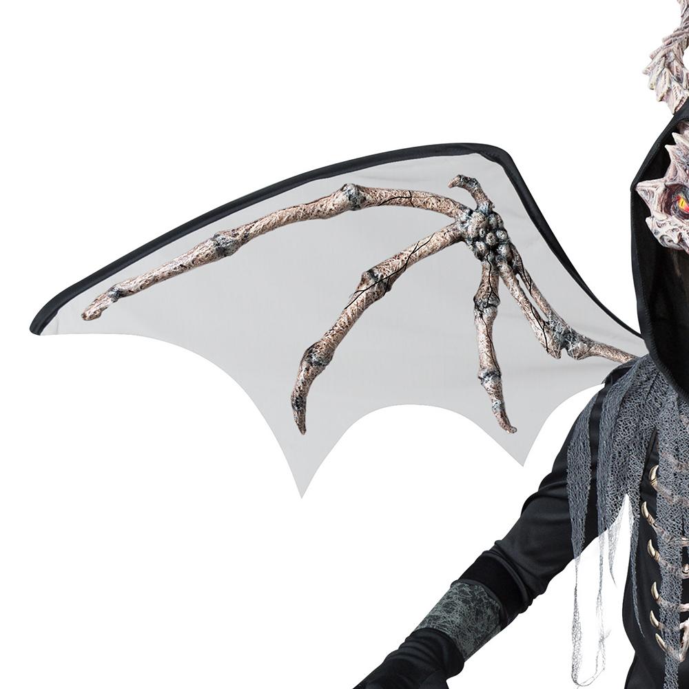 Boys Underworld Skeleton Dragon Costume Image #3