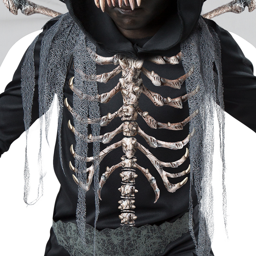 Boys Underworld Skeleton Dragon Costume Image #4