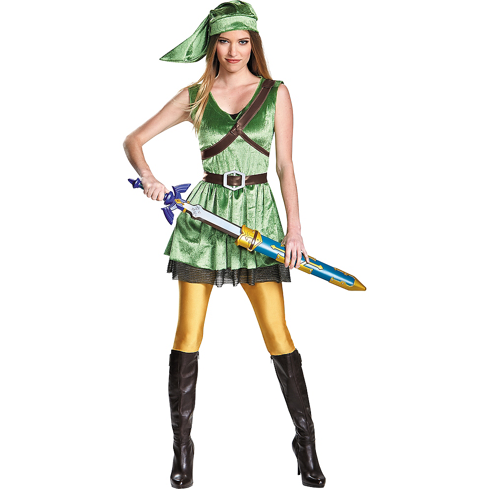 Nav Item for Adult Link Dress Costume - The Legend of Zelda Image #1
