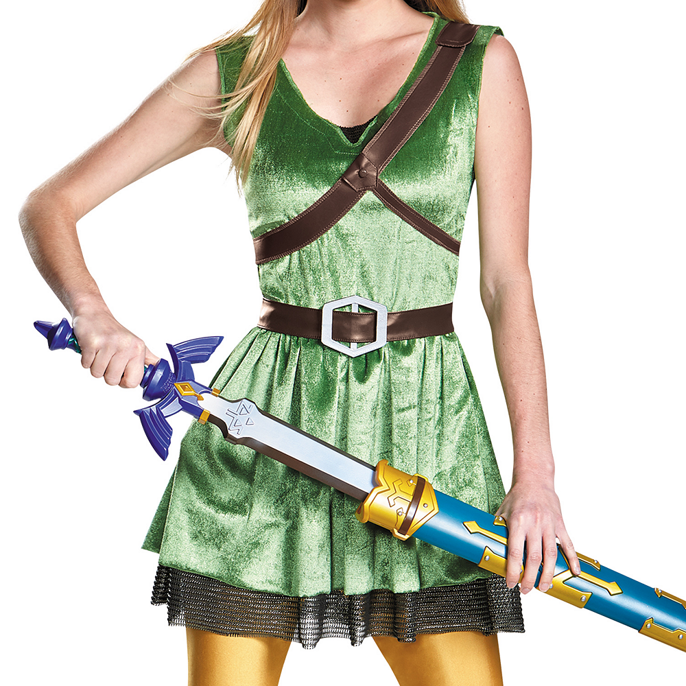 Adult Link Dress Costume - The Legend of Zelda Image #3