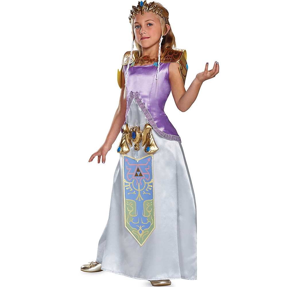 Girls Zelda Costume - The Legend of Zelda Image #1