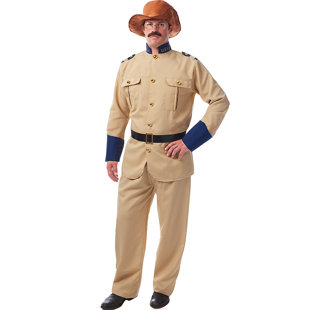 Adult Teddy Roosevelt Costume Accessory Kit Image #1