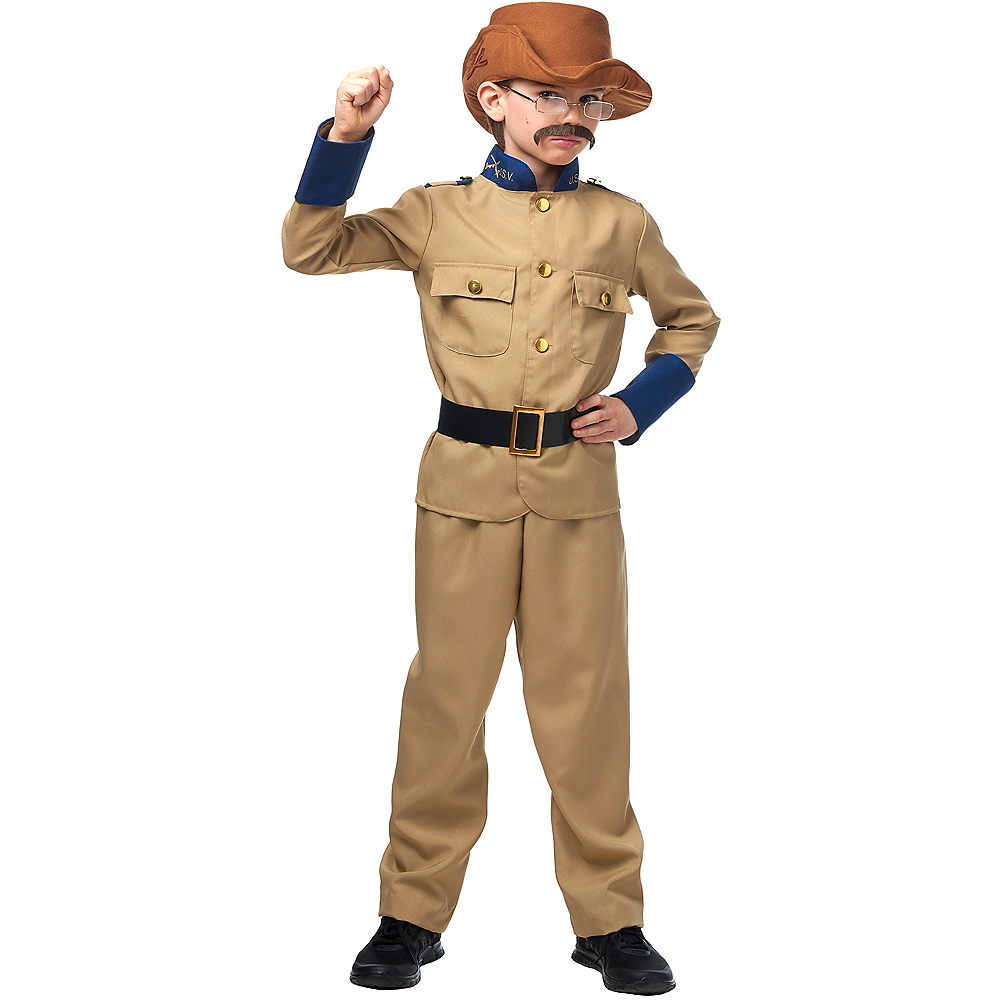 Child Teddy Roosevelt Costume Accessory Kit Image #1