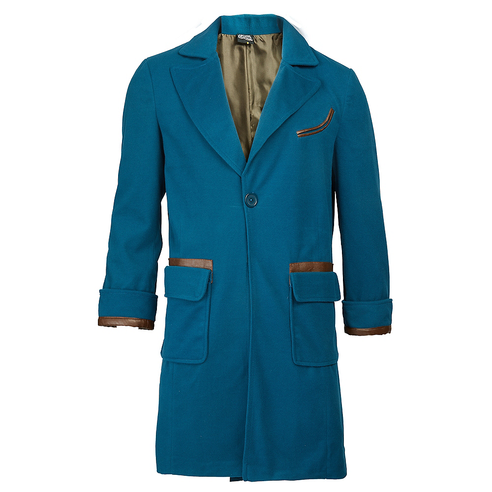 Adult Newt Scamander Coat - Fantastic Beasts & Where to Find Them Image #1