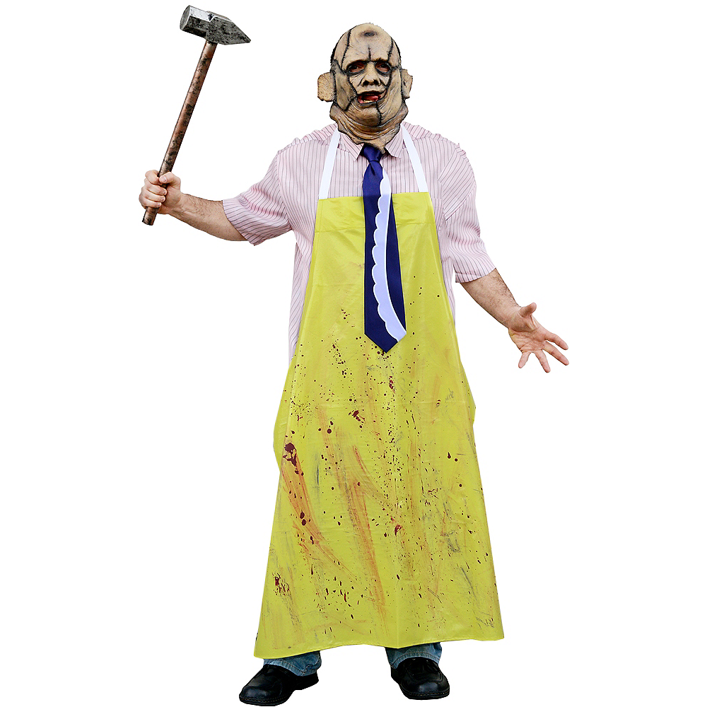 Adult Leatherface Costume - The Texas Chainsaw Massacre Image #1