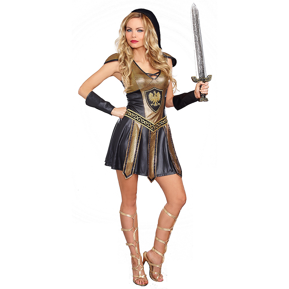 Adult Deadly Roman Warrior Costume Image #1