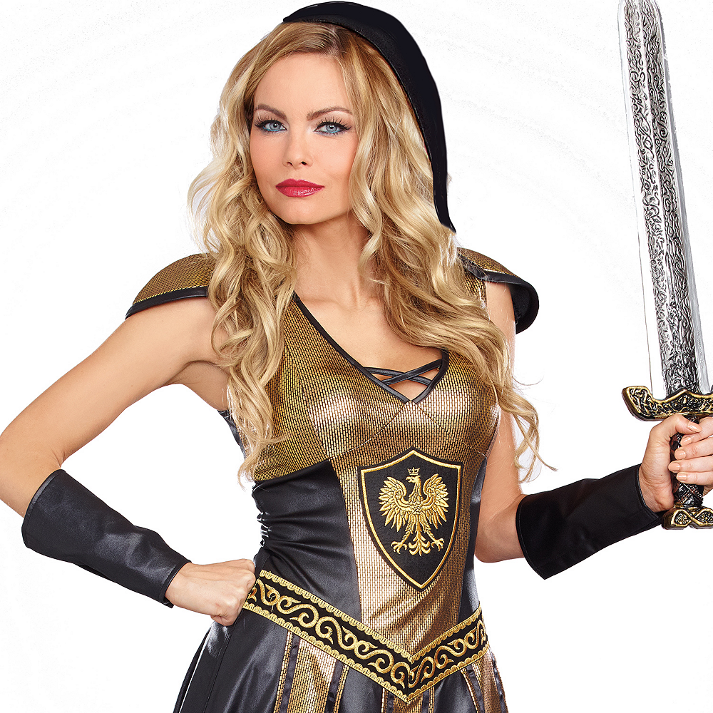 Adult Deadly Roman Warrior Costume Image #2