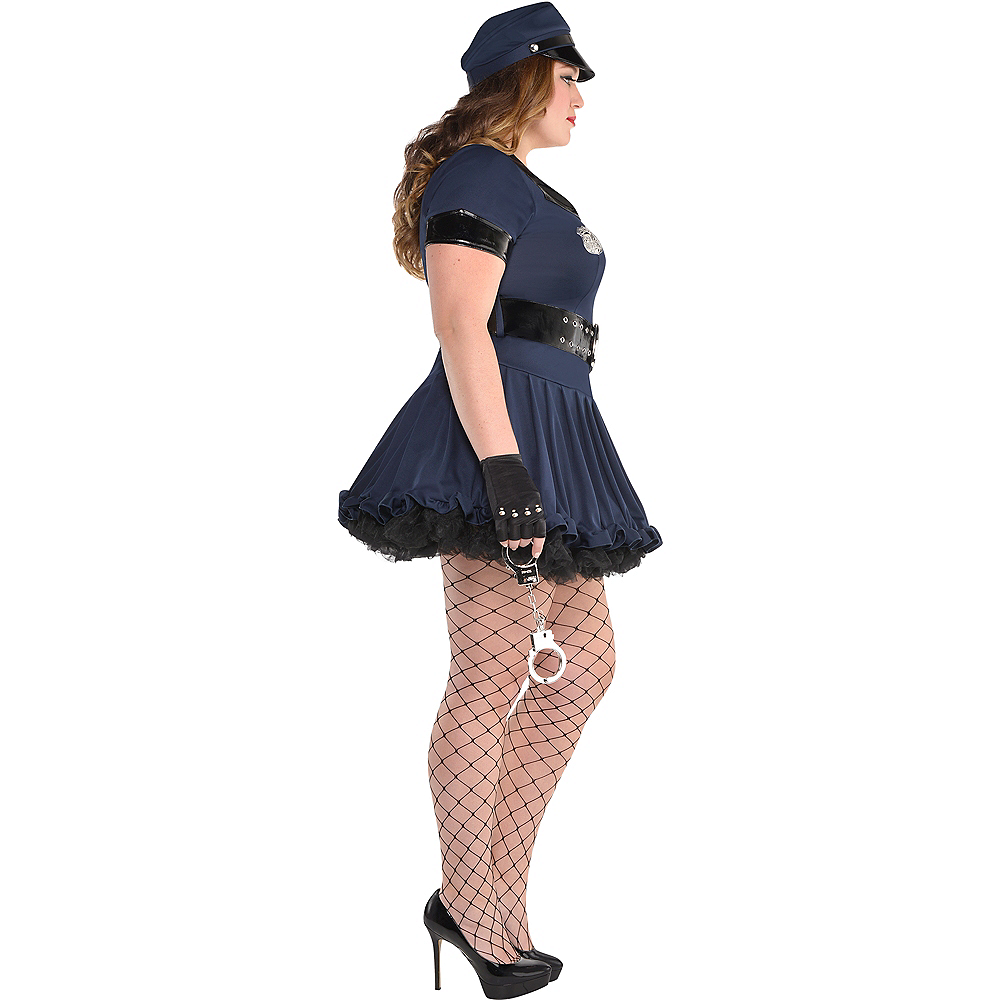 Adult Locked N Loaded Cop Costume Plus Size Image #2
