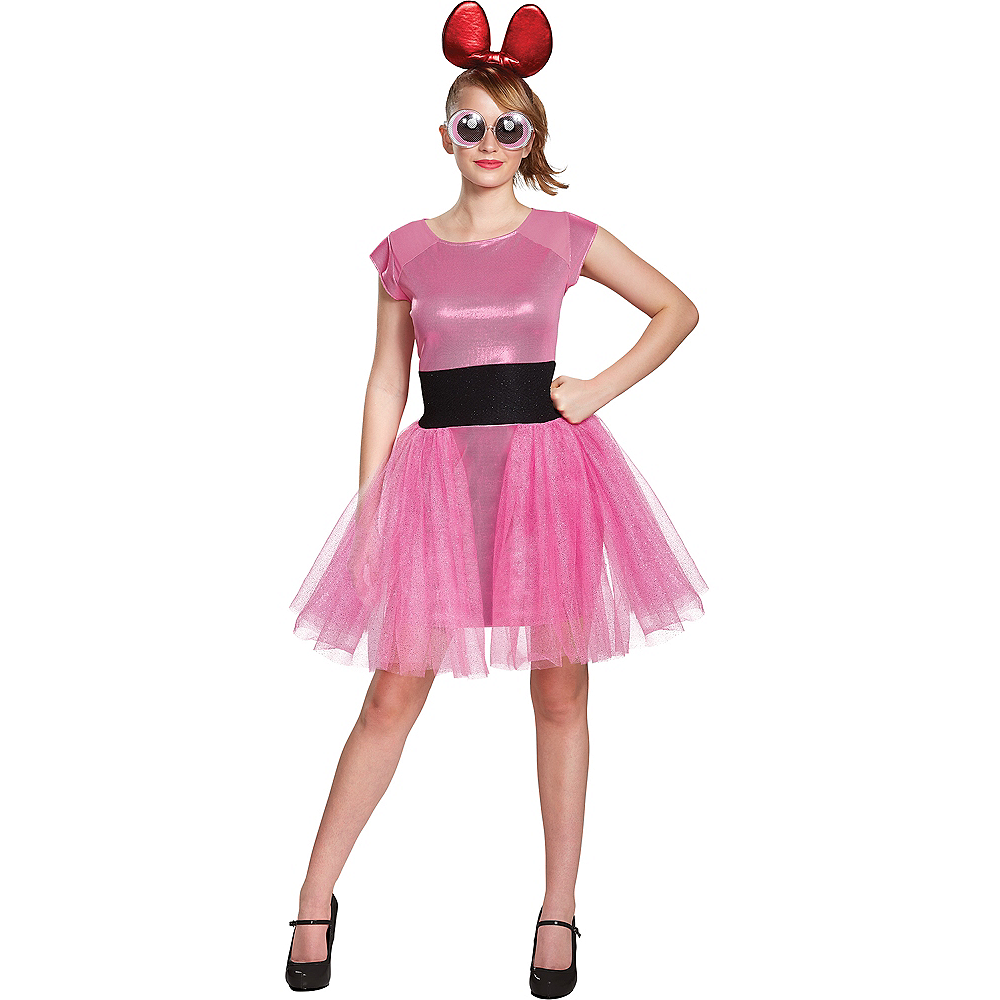 adult blossom costume powerpuff girls