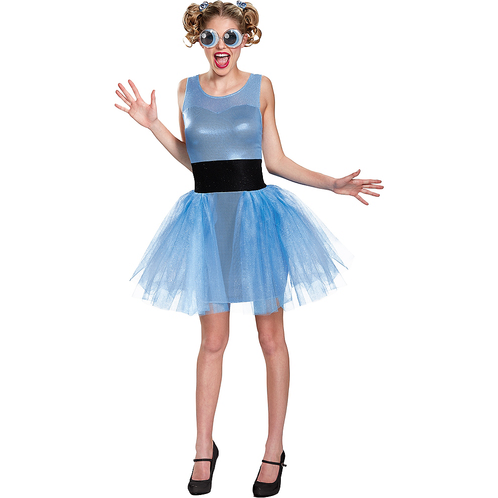 Adult Bubbles Costume - Powerpuff Girls Image #1