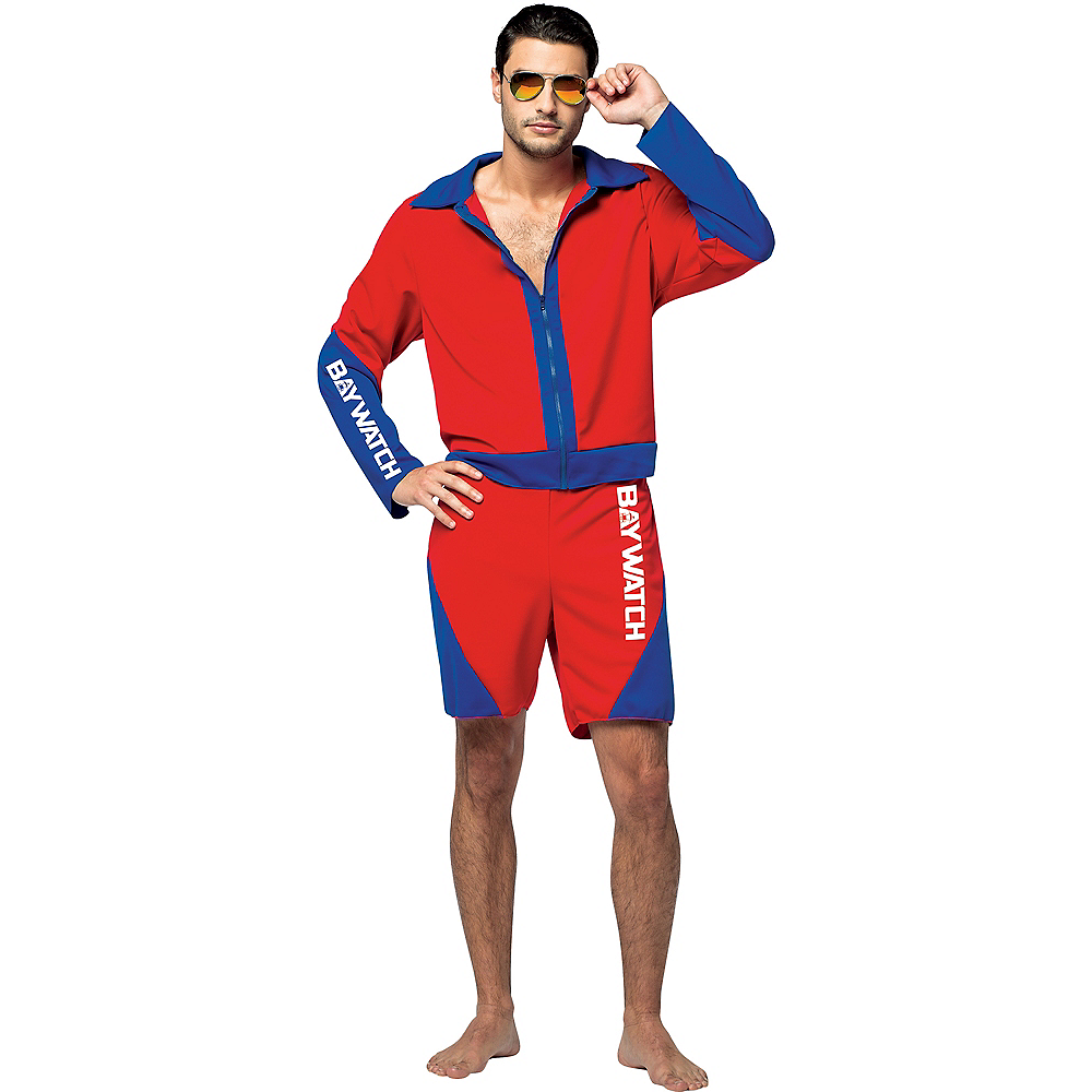 Adult Baywatch Costume Image #1