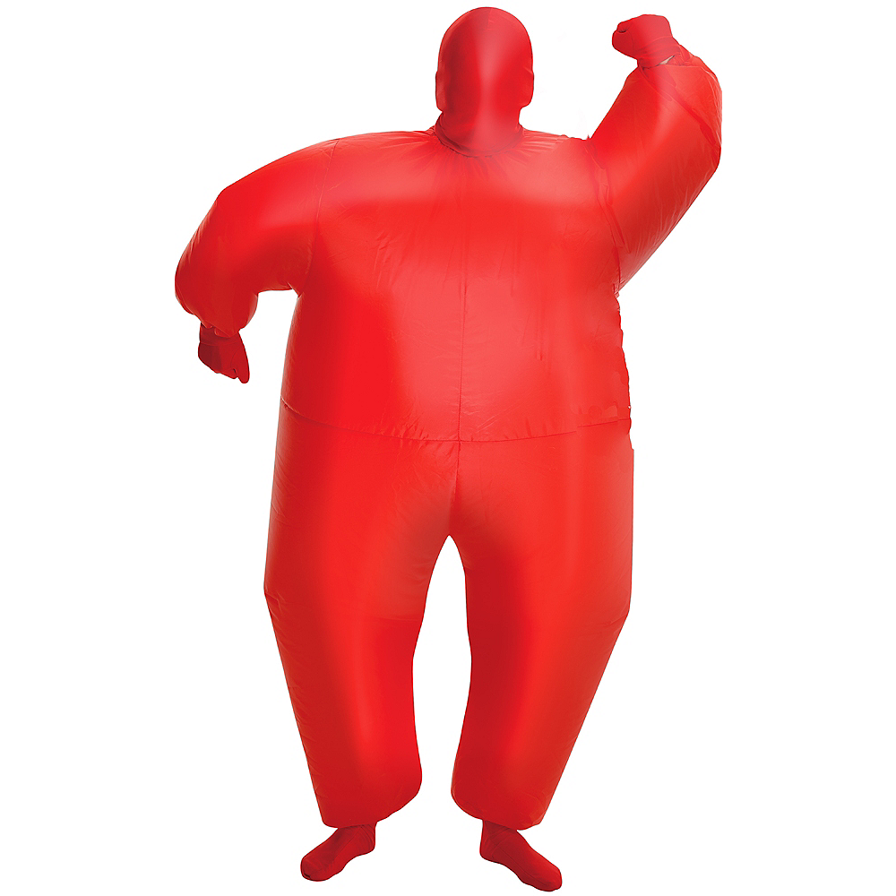Child Inflatable Red Morphsuit Image #1
