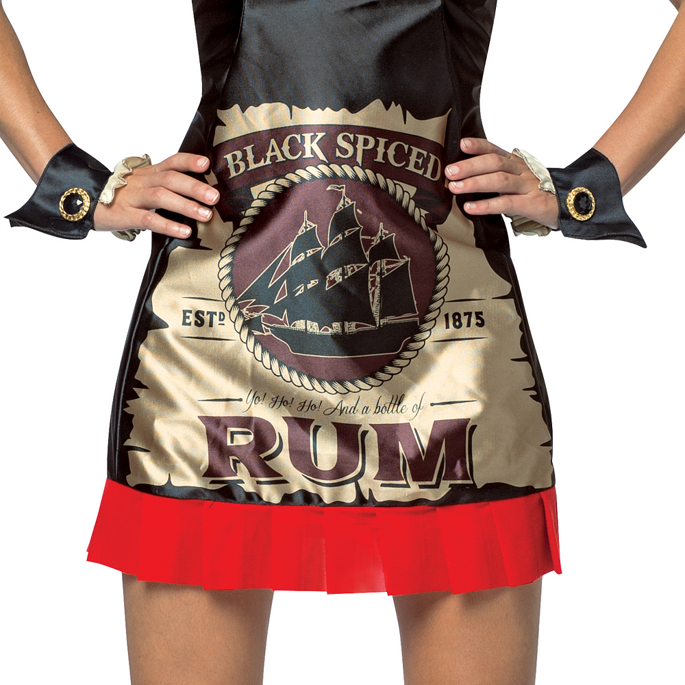 Adult Rum Dress Bottle of Rum Costume Image #4