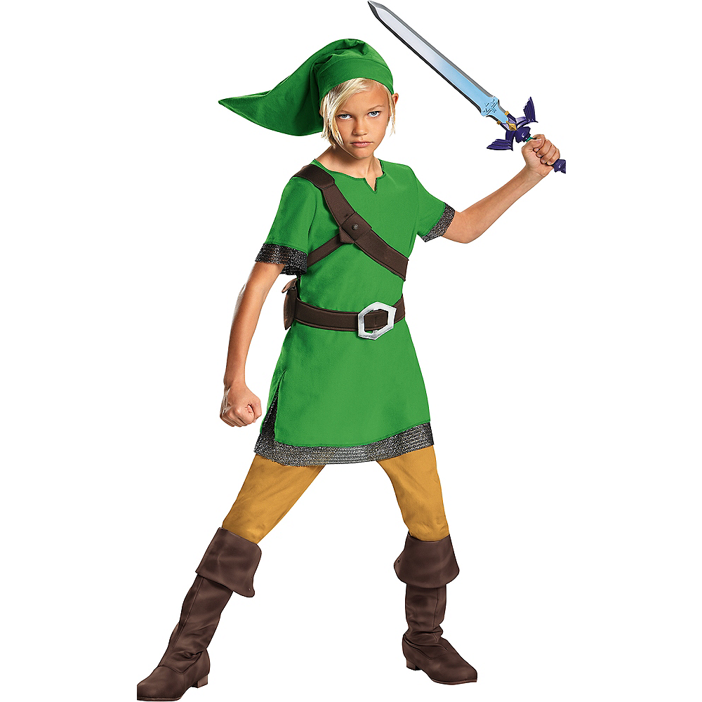 Boys Link Costume - The Legend of Zelda Image #1