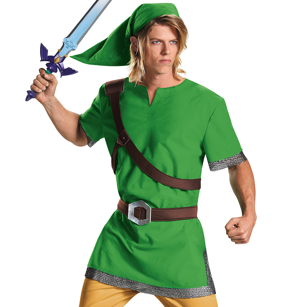 Nav Item for Adult Link Costume - The Legend of Zelda Image #2