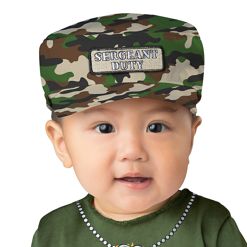 Baby Sergeant Duty Army Costume Image #2