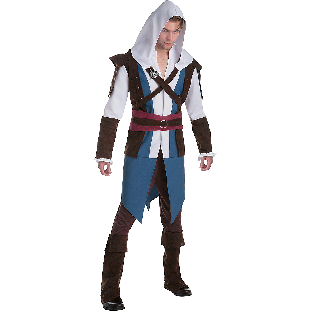 Nav Item for Adult Edward Costume - Assassin's Creed Image #1