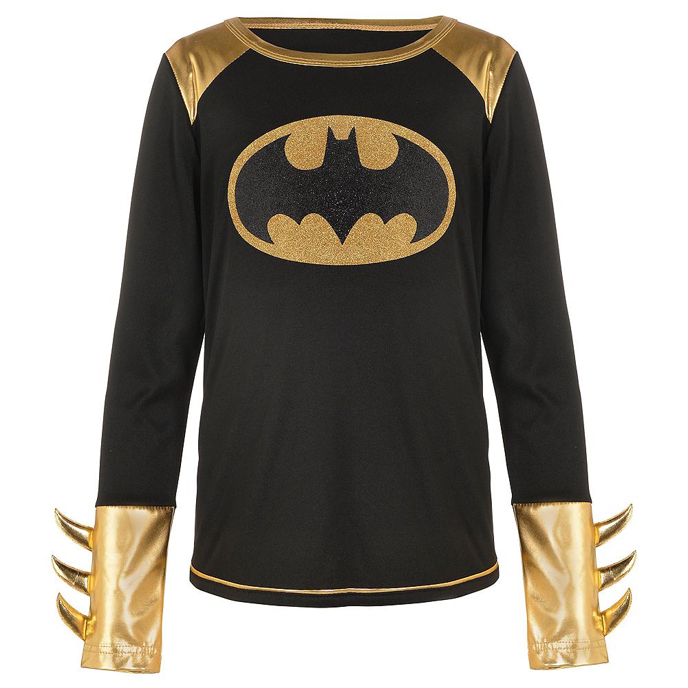 Child Long-Sleeve Batgirl Shirt - Batman Image #1