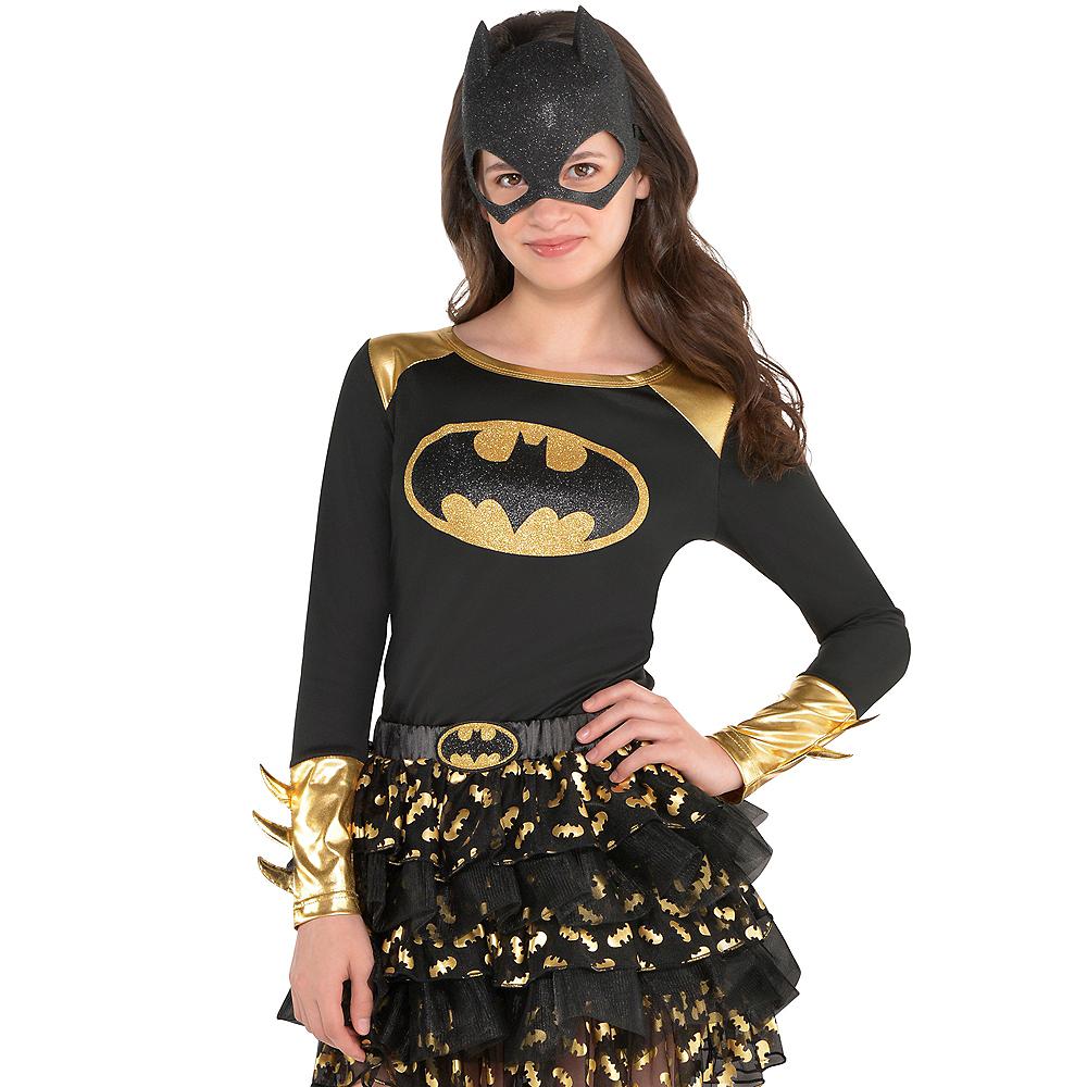 Child Long-Sleeve Batgirl Shirt - Batman Image #2