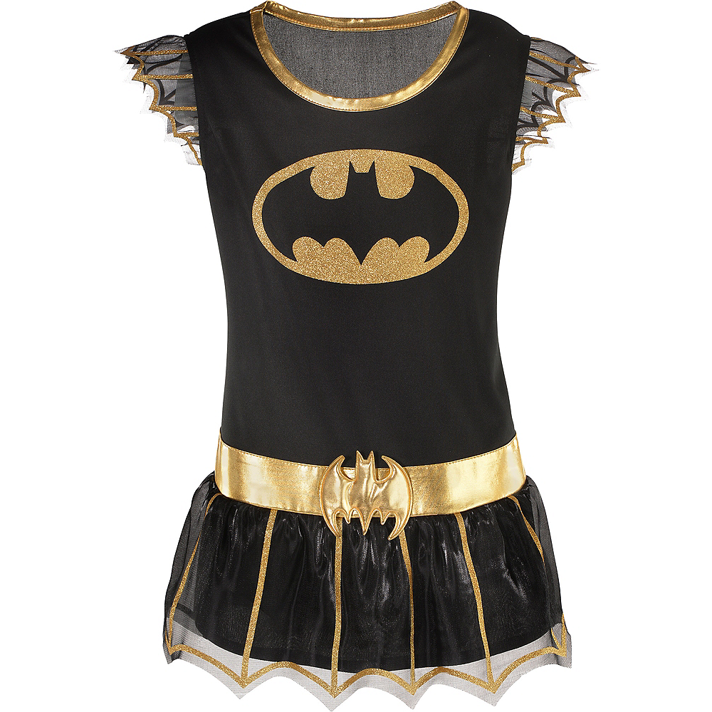Child Batgirl Tunic - Batman Image #2