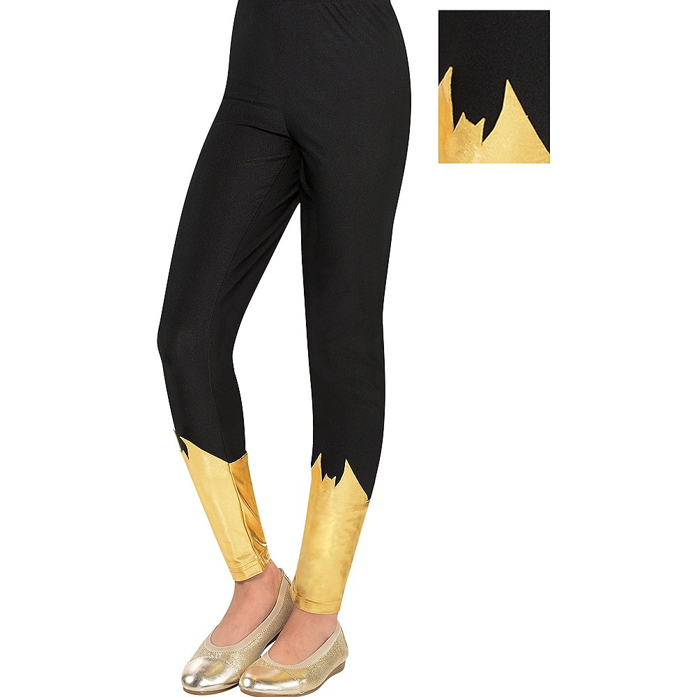 Child Batgirl Leggings - Batman Image #1