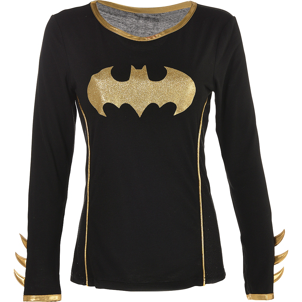 Adult Batgirl Long-Sleeve Shirt - Batman Image #3