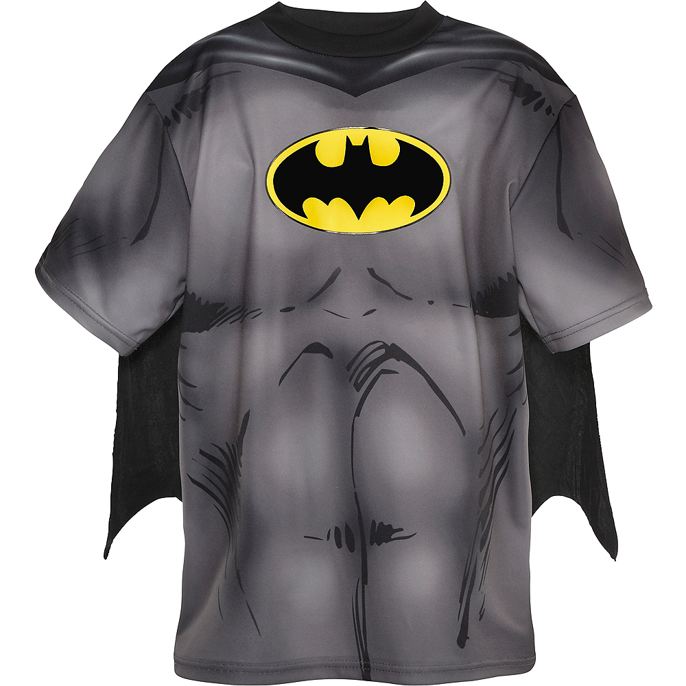 Nav Item for Child Batman T-Shirt with Cape Image #2