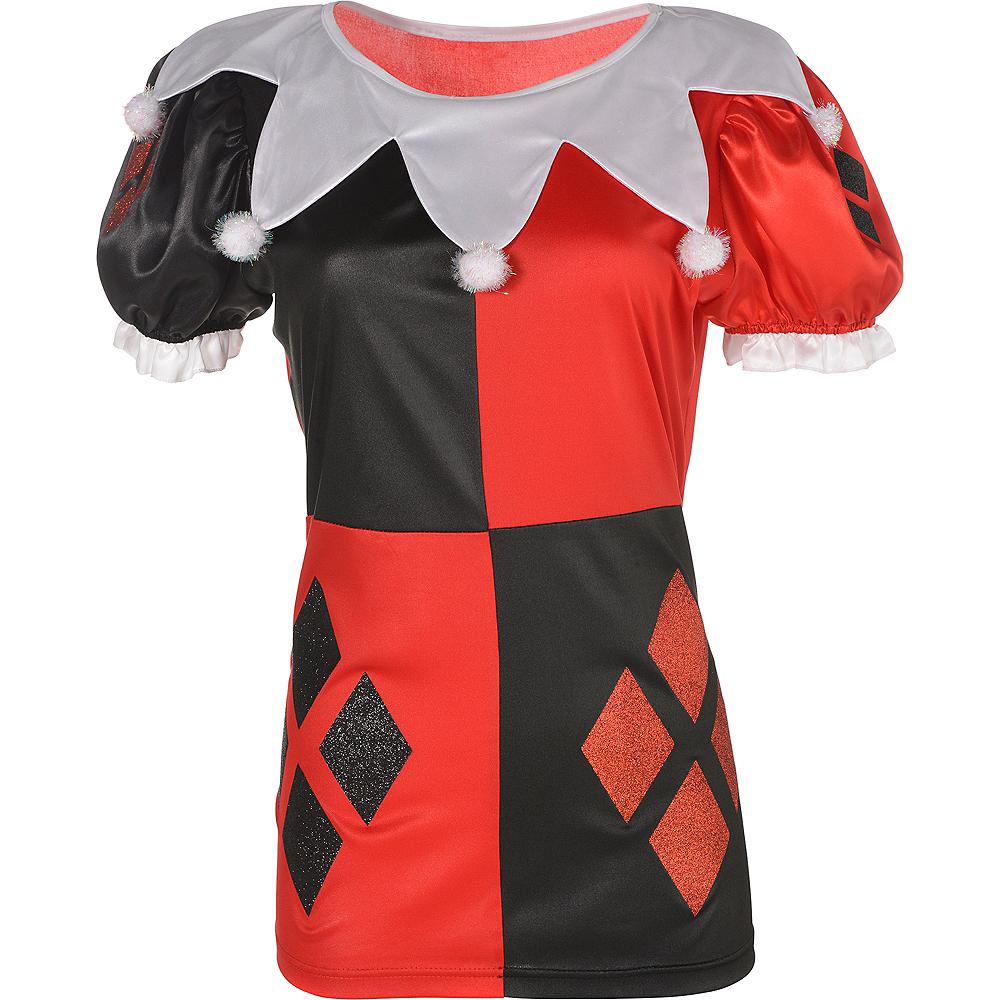 Adult Harley Quinn T-Shirt Image #2