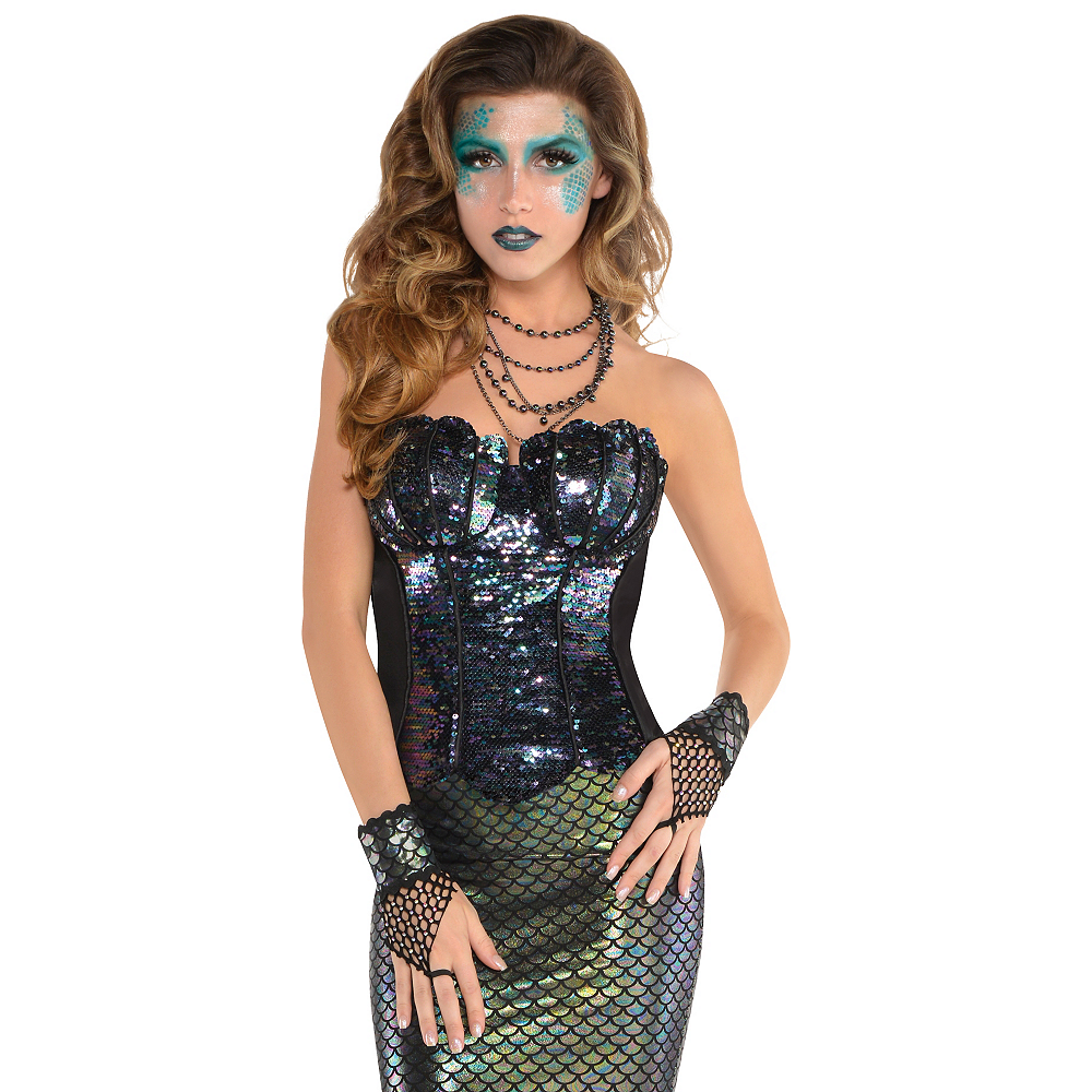Nav Item for Adult Sea Siren Mermaid Corset Image #2