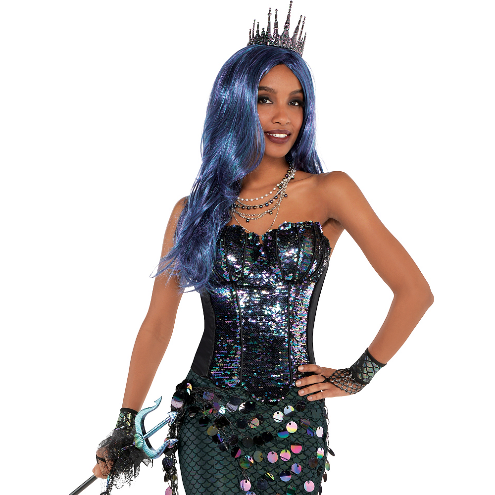 Nav Item for Adult Sea Siren Mermaid Corset Image #3