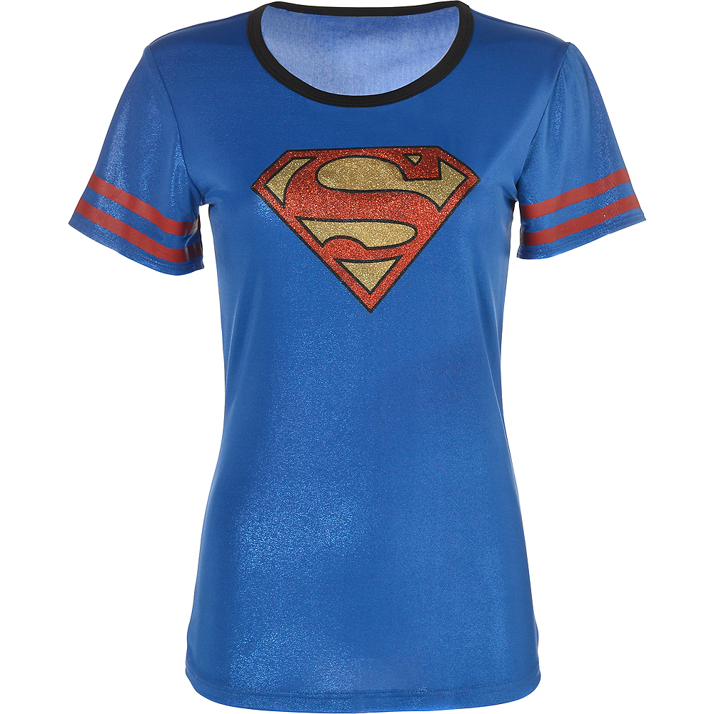 Adult Supergirl T-Shirt - Superman Image #2