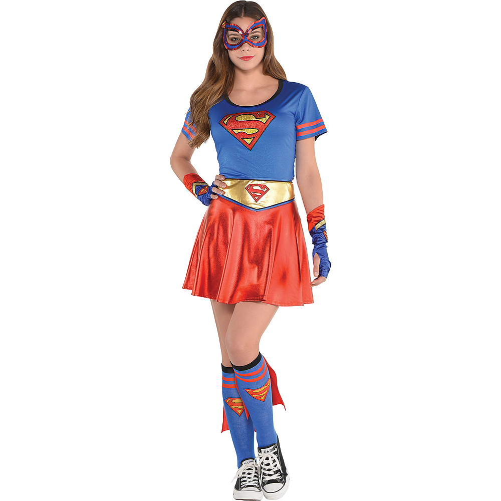 Adult Supergirl T-Shirt - Superman Image #3