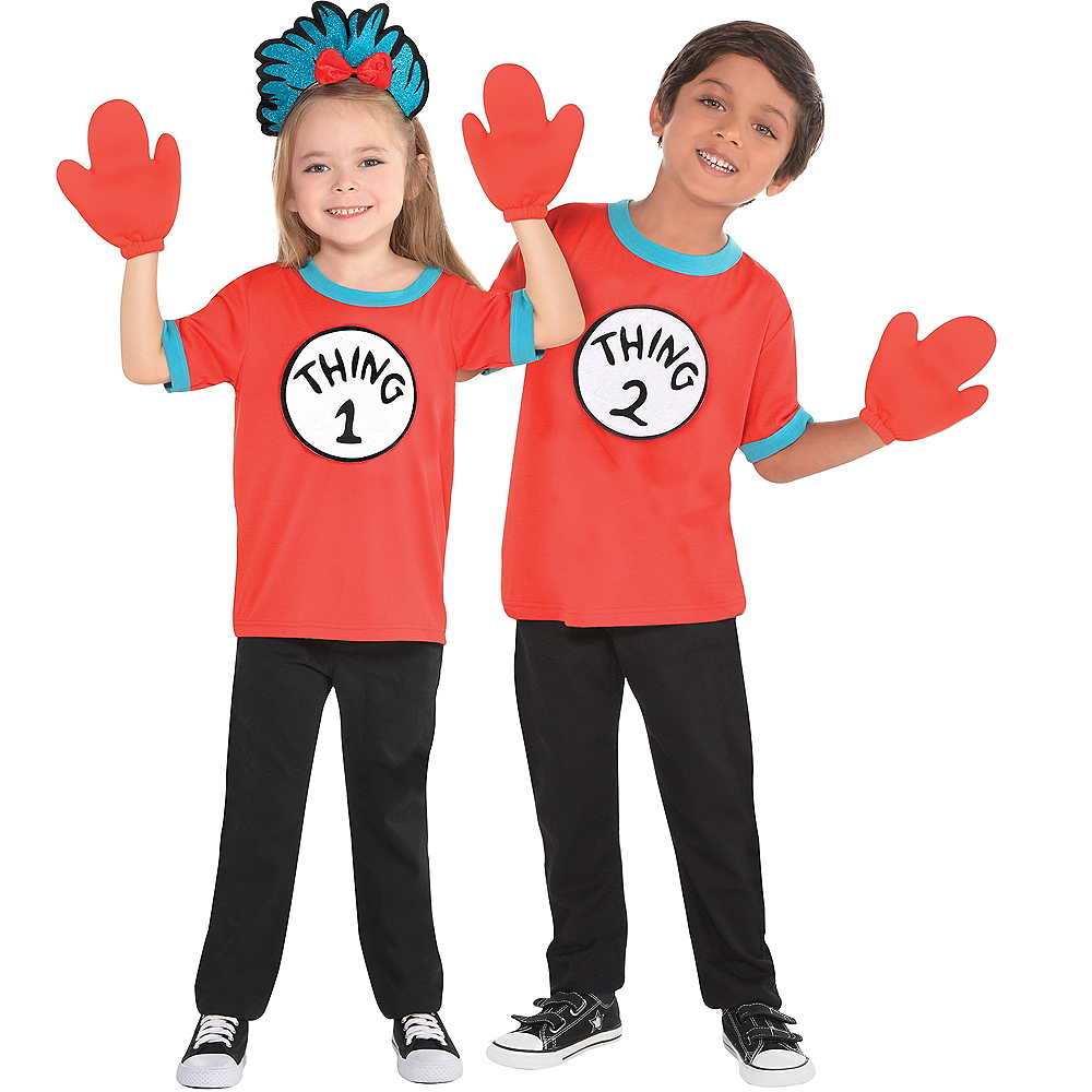 Child Thing 1 & Thing 2 Accessory Kit - The Cat in the Hat Image #1
