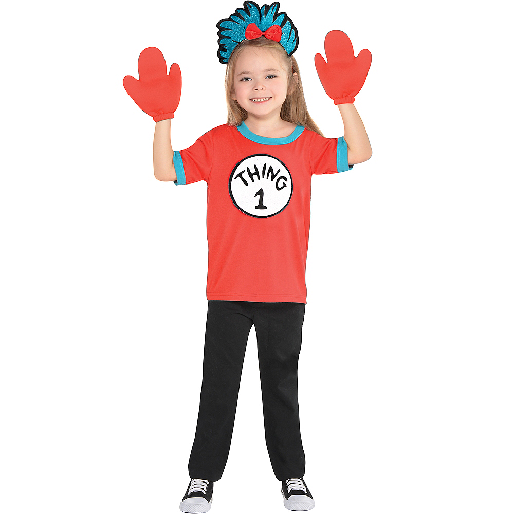 Child Thing 1 & Thing 2 Accessory Kit - The Cat in the Hat Image #4