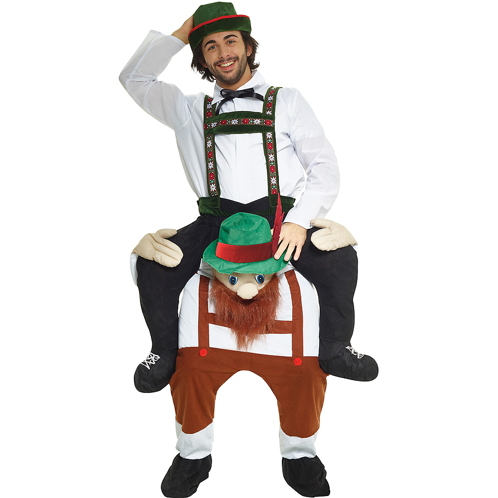 Adult Bavarian Ride-On Costume Image #1