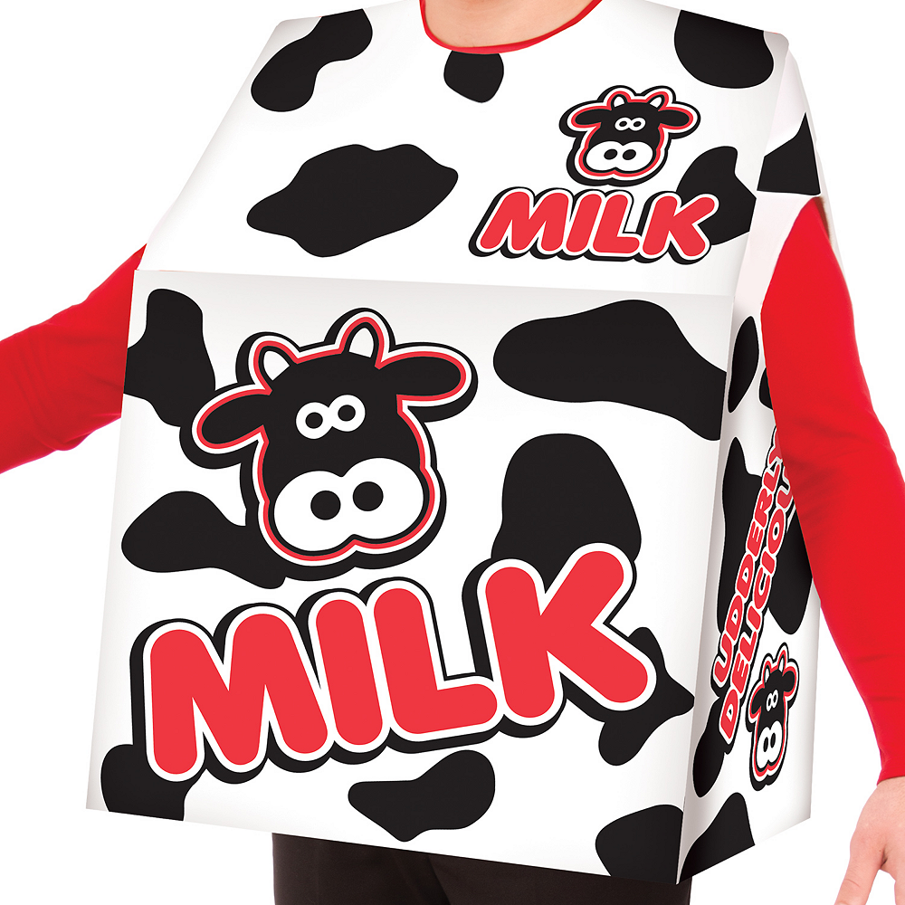 Adult Milk Box Costume Image #2