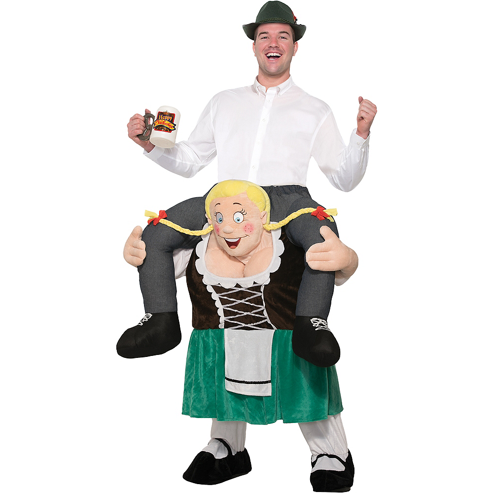 Adult Beer Maiden Ride-On Costume Image #1