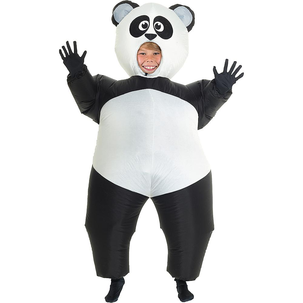 Child Inflatable Panda Costume Image #1
