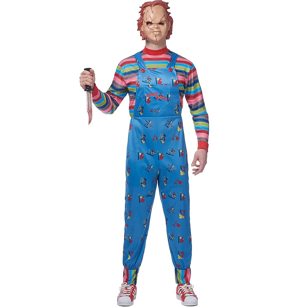 Nav Item for Adult Chucky Doll Costume Image #1