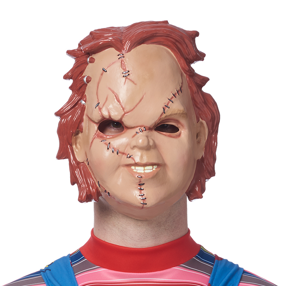 Nav Item for Adult Chucky Doll Costume Image #2