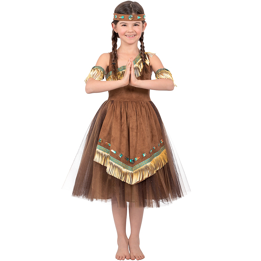 Girls Native American Princess Costume Image #1