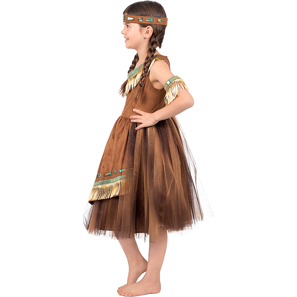 Girls Native American Princess Costume Image #3