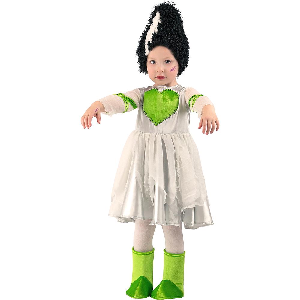 Baby Frankie's Bride Costume Image #1