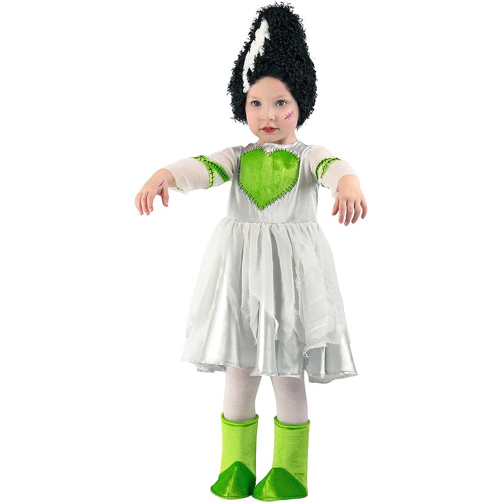 Toddler Girls Frankie's Bride Costume Image #1
