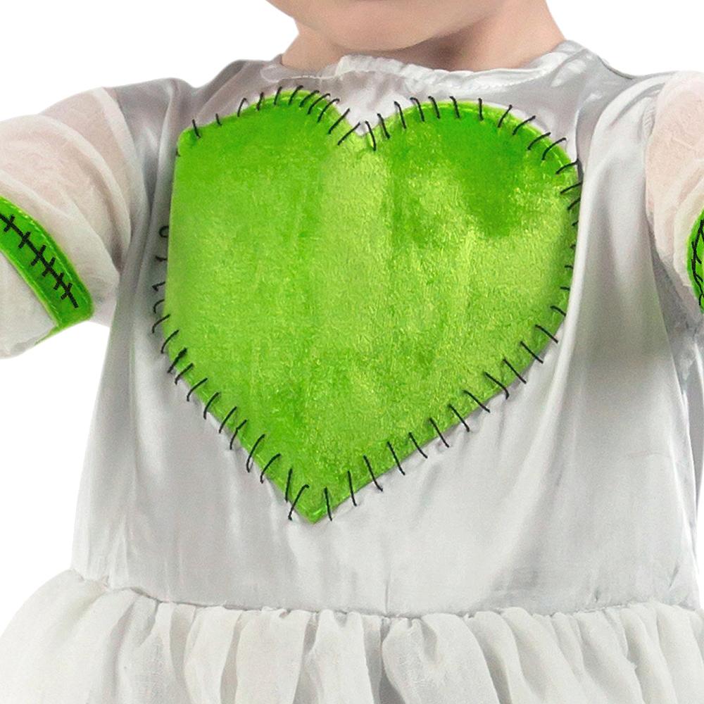 Toddler Girls Frankie's Bride Costume Image #4