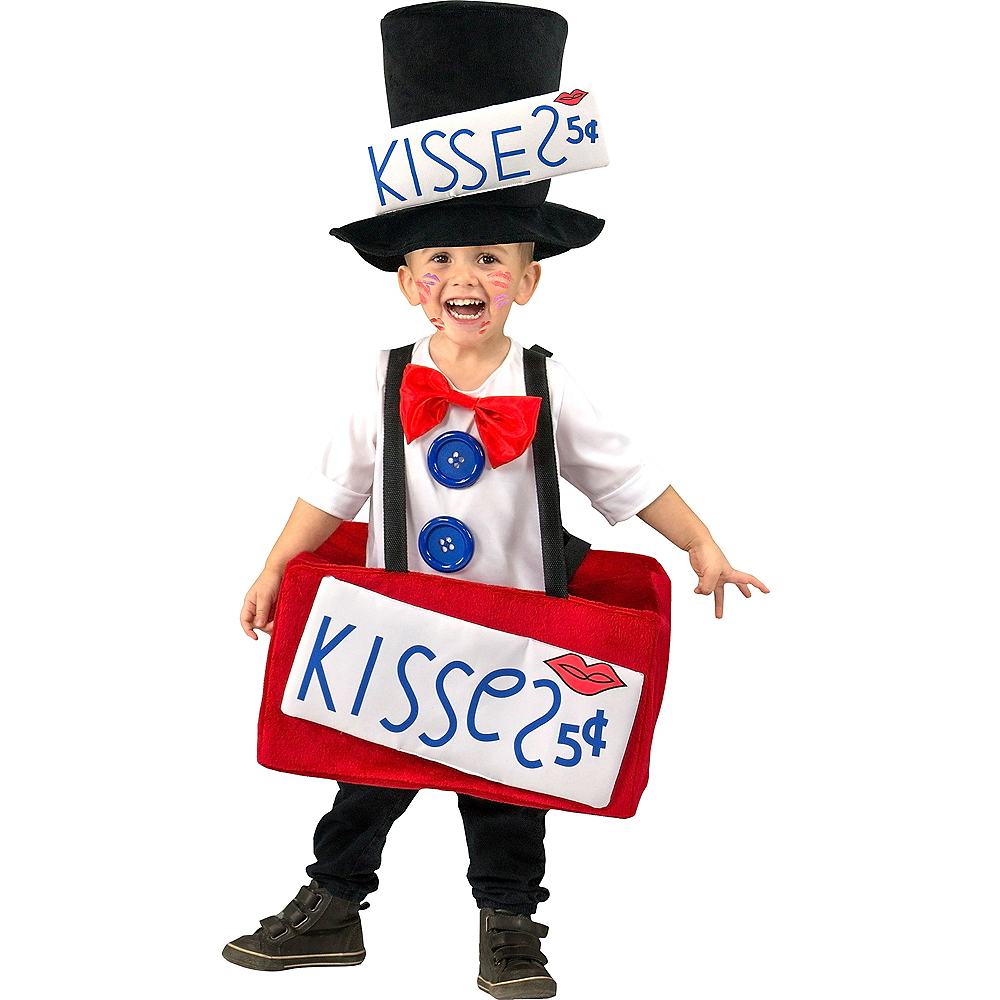 Toddler Boys Kissing Booth Costume Image #1