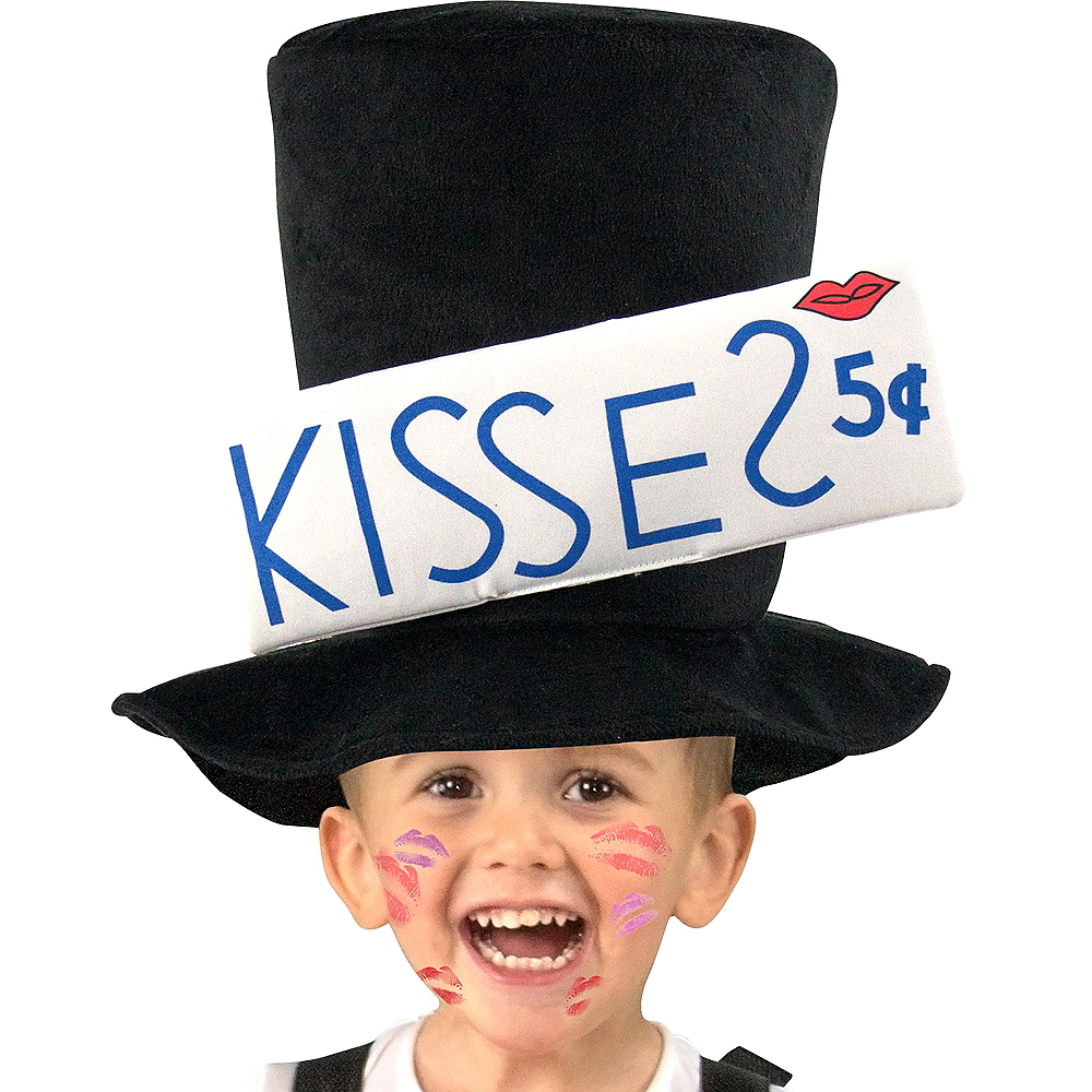 Nav Item for Toddler Boys Kissing Booth Costume Image #3