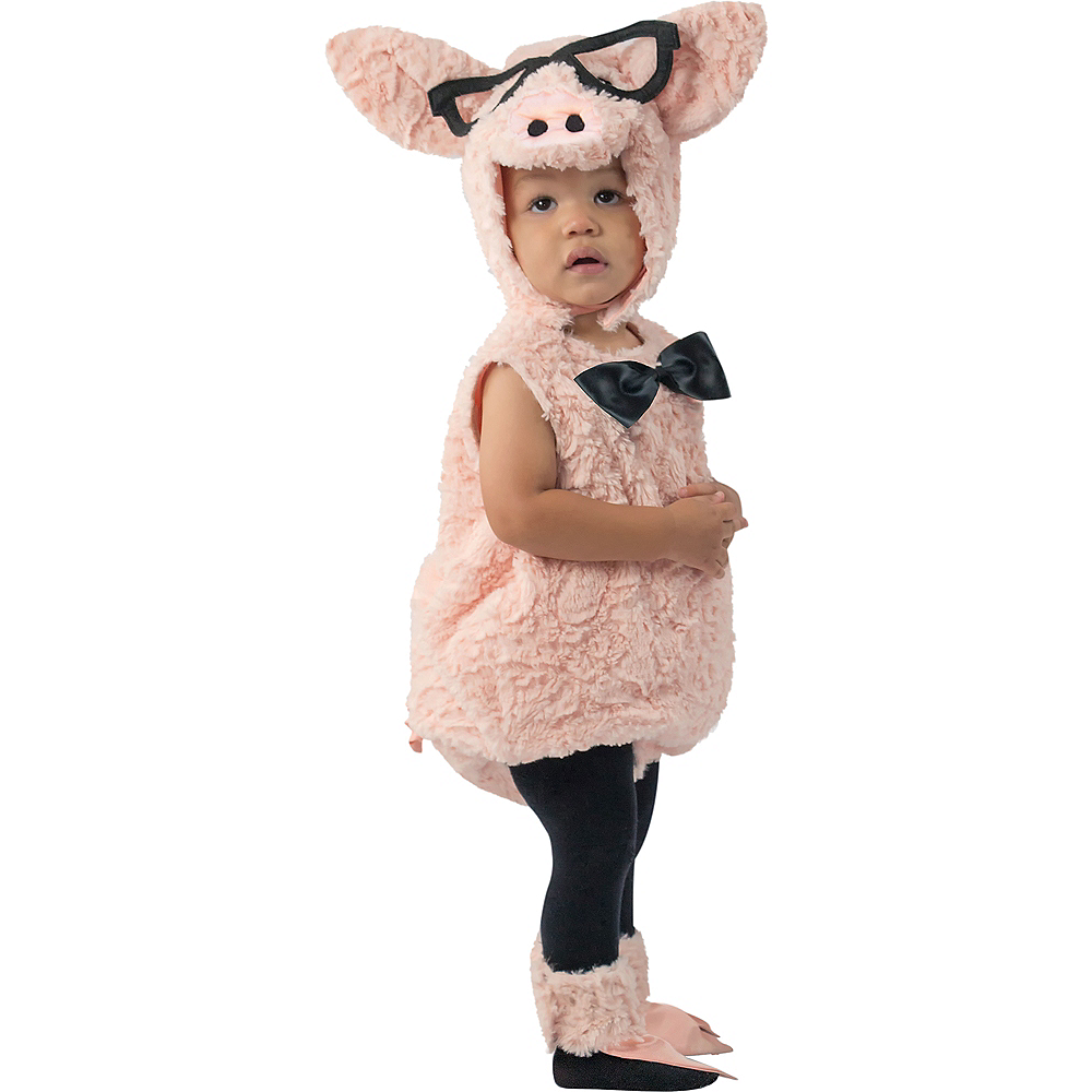 Baby Hipster Pig Costume Image #1