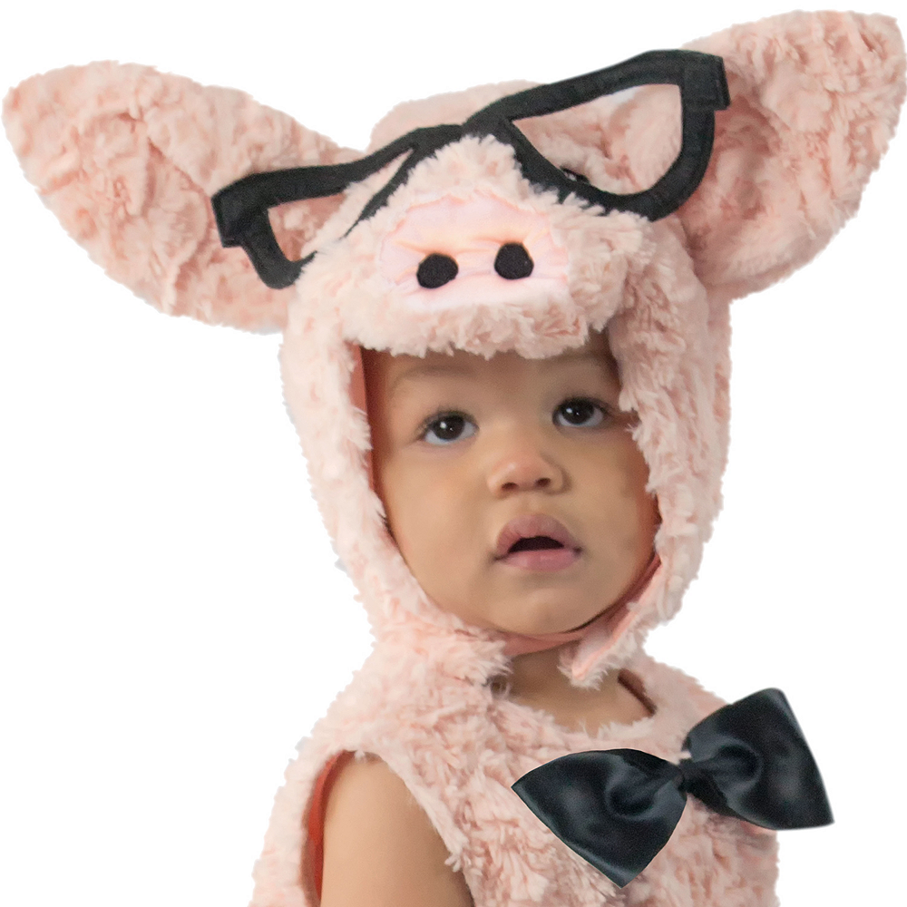 Baby Hipster Pig Costume Image #3