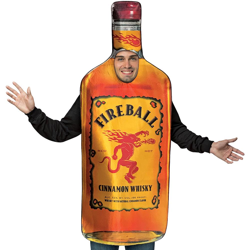Adult Bottle of Fireball Costume Image #2